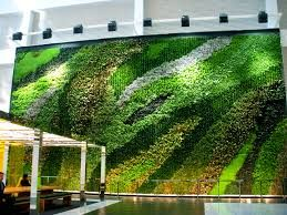 Green Wall Texture Seamless
