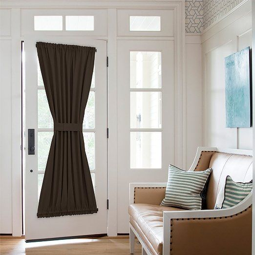 Nicetown Energy Efficient Blackout Patio Door Curtain Panel One