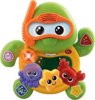 Vtech Tortugagua - Juguete musical para bebés desde 12 meses, ideal para jugar durante el baño.