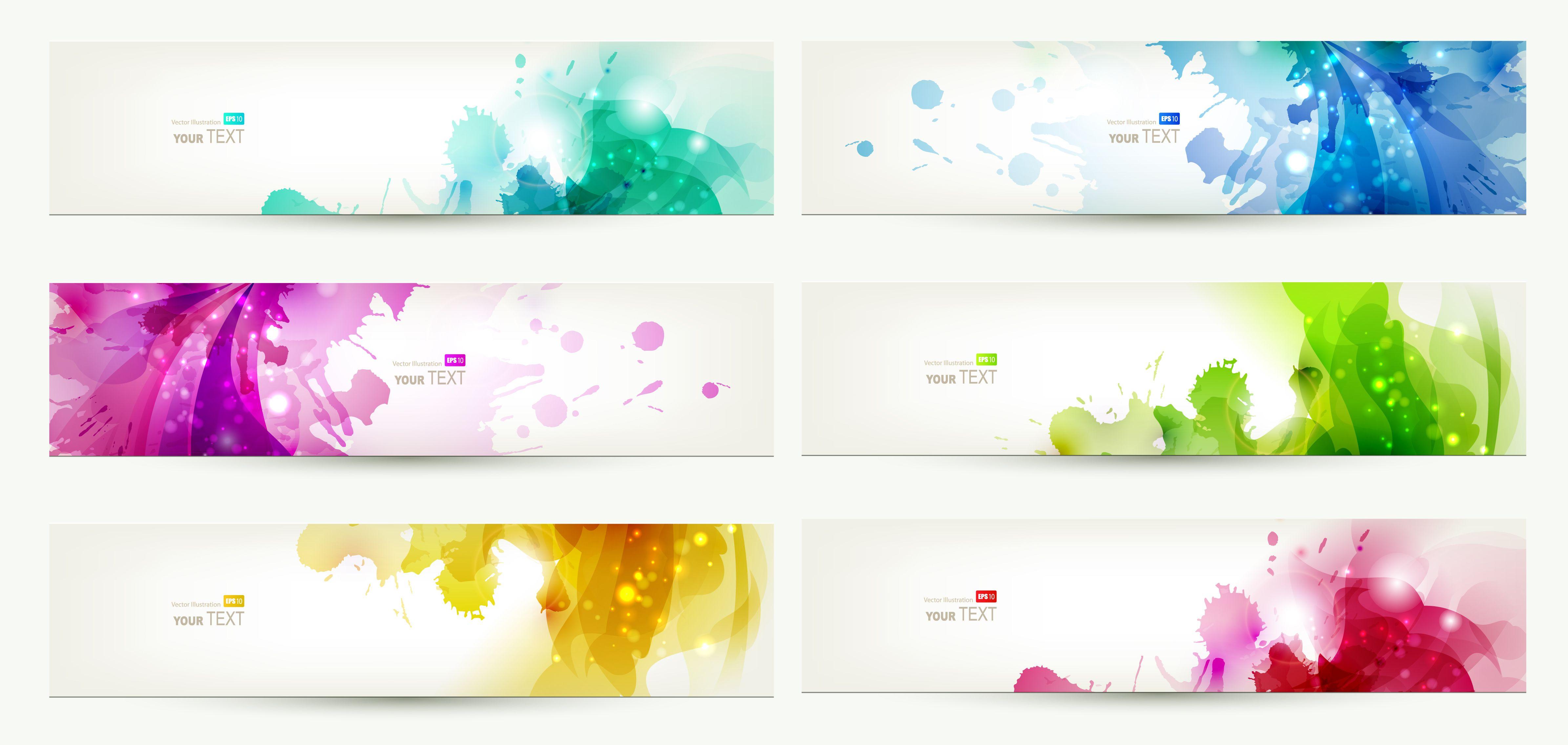 Free Vector Banner Templates | Banner design | Pinterest | Banner ...