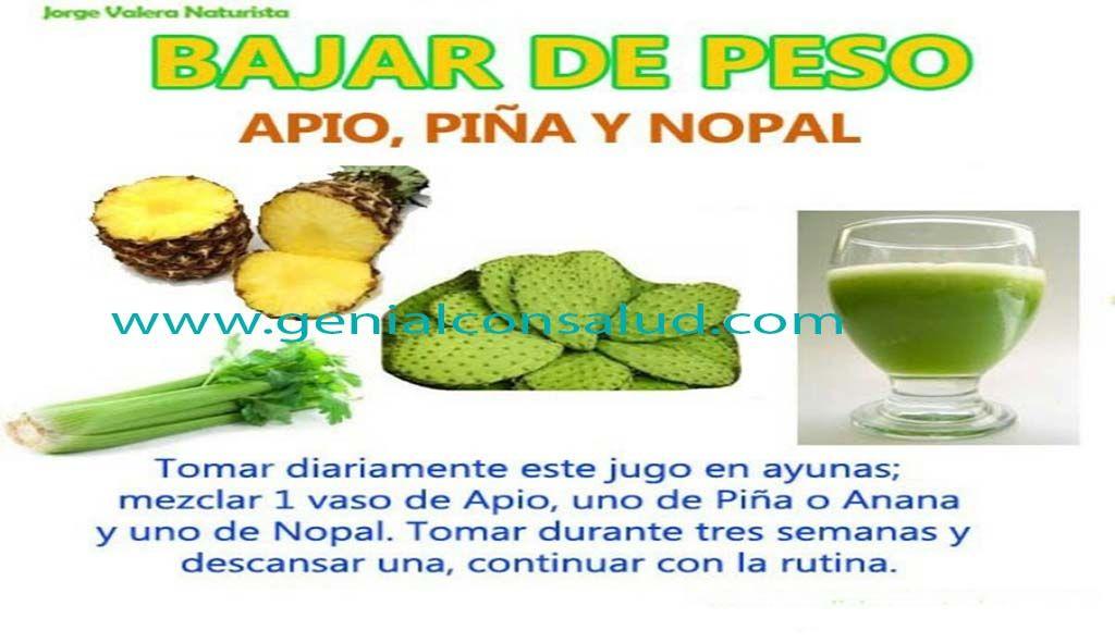 Buscar remedios naturales para bajar de peso