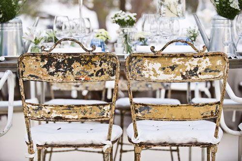 Estilos de sillas para tu boda | Rosa Clará