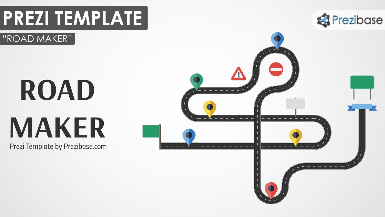 presi templates - custom road maker builder prezi template prezi templates