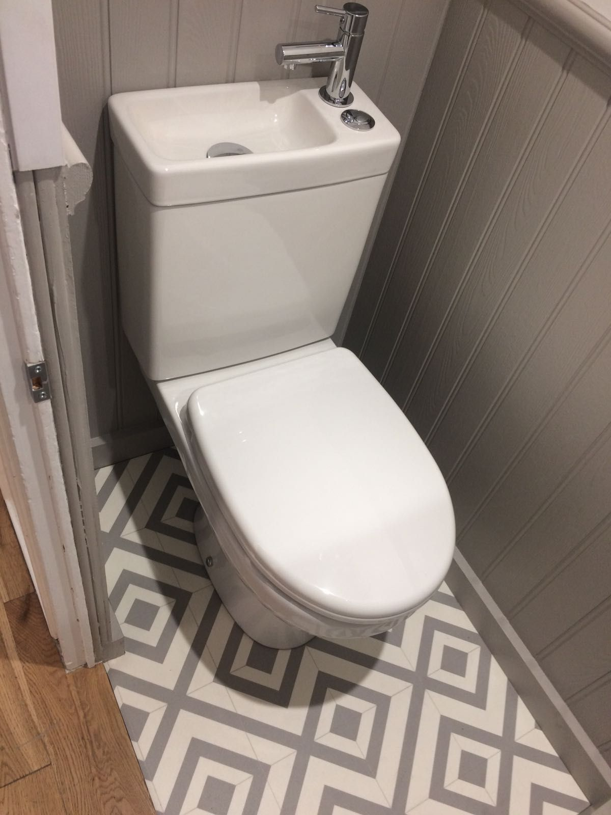 Tiny Under Stairs Cloakroom Toilet For Small Bathroom Small Toilet Room Small Downstairs Toilet