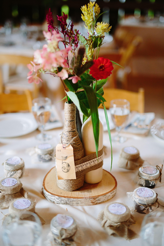 Diy Rustic Wine Bottle Centerpiece Rustic Wedding Centerpieces Wedding Reception Centerpieces Rustic Wine Bottle Wedding Centerpieces