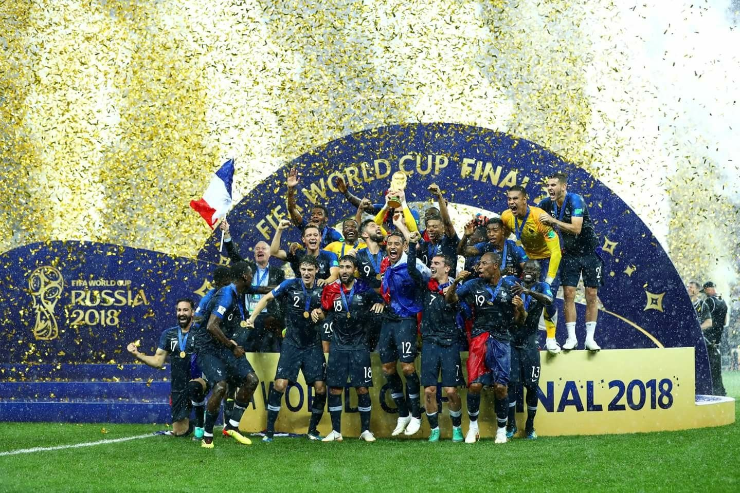 2018 Fifa World Cup Winners France World Cup World Cup Trophy World Cup 2018