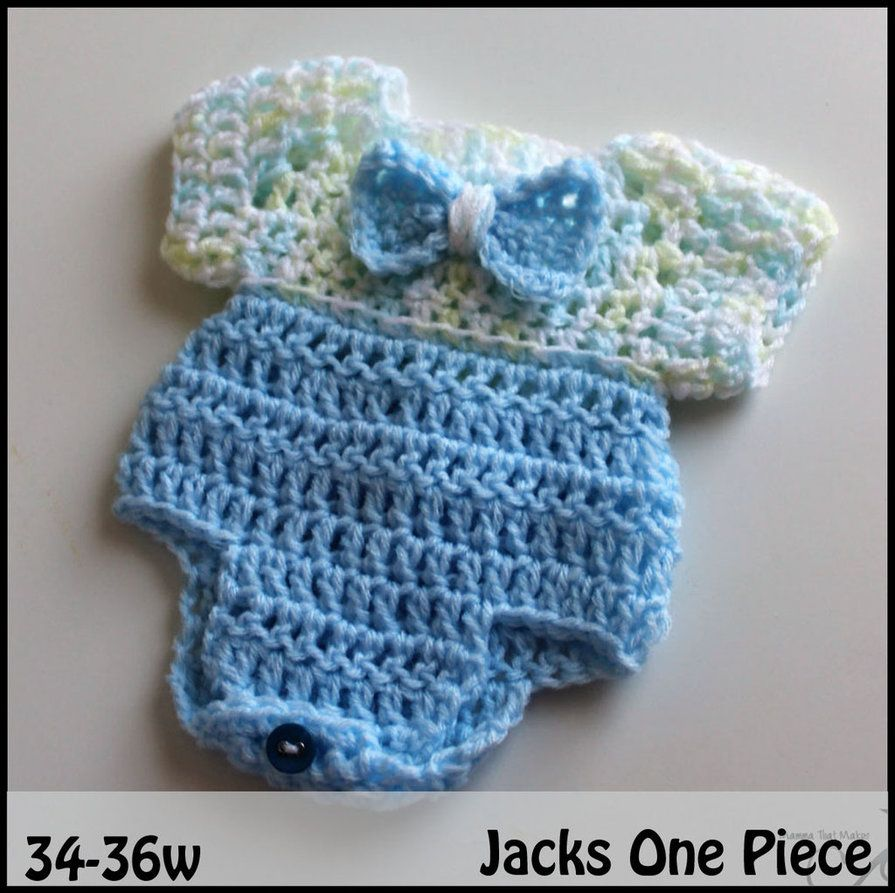 A blog of free crochet patterns for premature and angel babies, as ...