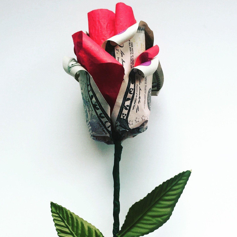 Origami money rose money origami money art paper flowers origami origami money rose money origami money art paper flowers origami rose by hellacrafty415 on etsy mightylinksfo