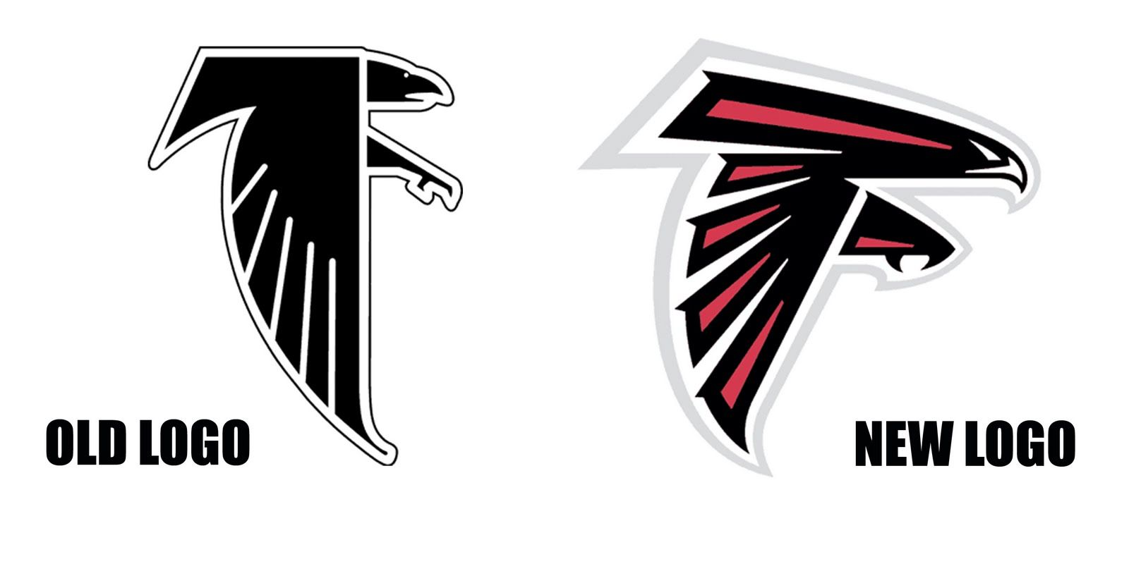 Falcons Logo Change Atlanta Falcons Logo Falcon Logo Falcons
