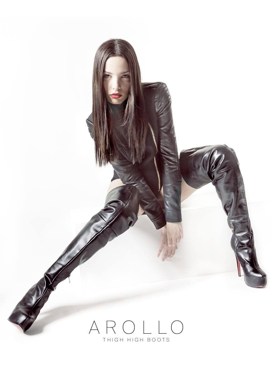 Arollo Leather Heeled Boots 9f09f71dec686e436b6238c11fcf058c