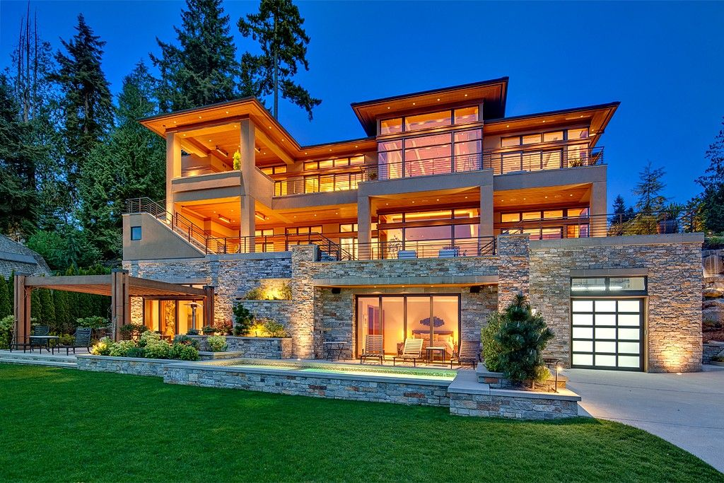 Passion meets perfection for this architectural masterpiece. Bellevue, WA Coldwell Banker BAIN $11,990,000