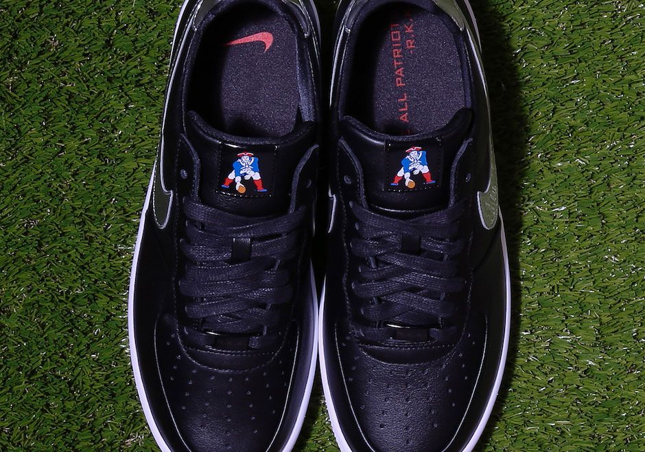 New England Patriots Nike Air Force 1