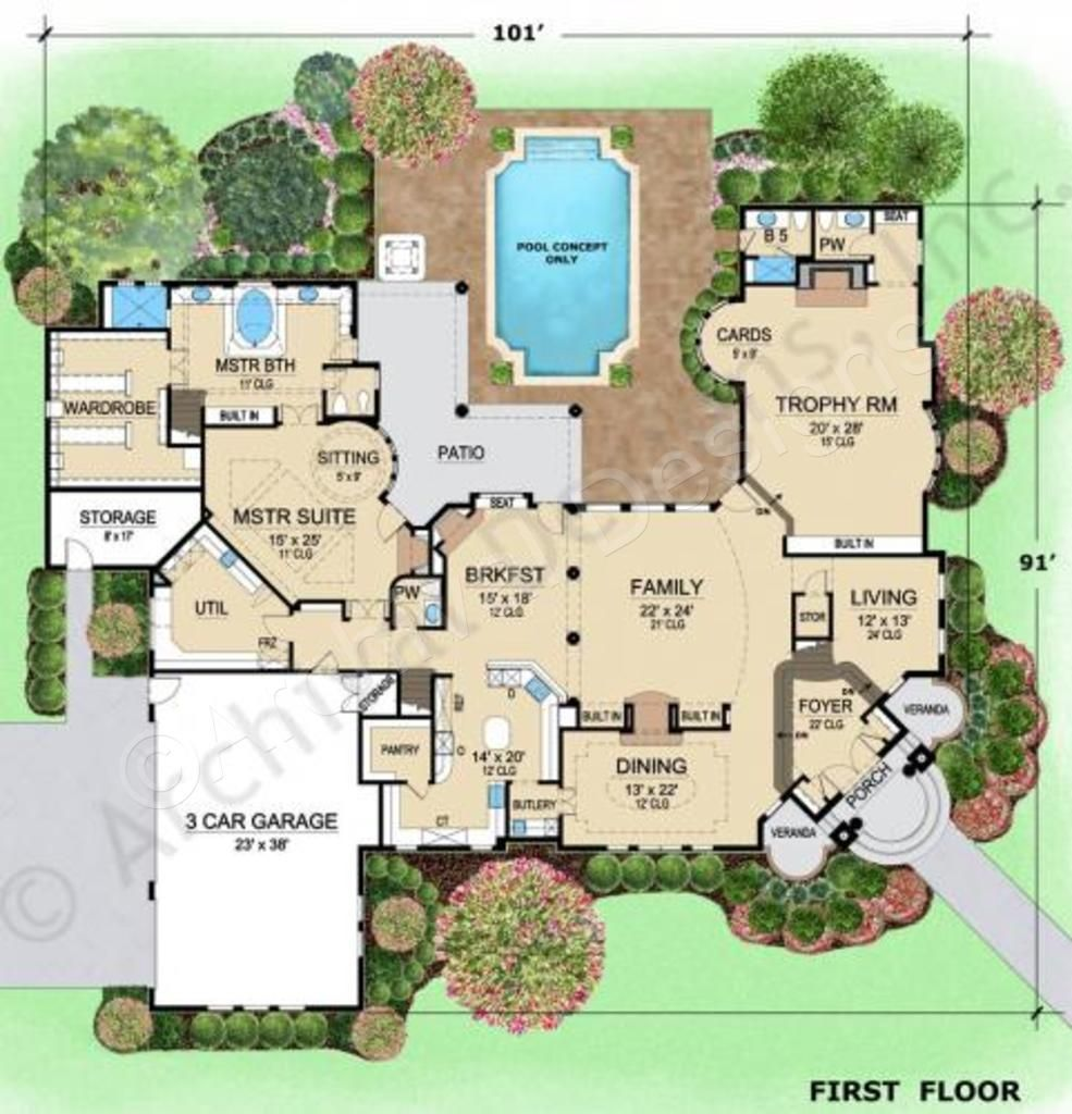 hermann park house plan estate floor house plan hermann park rh pinterest com
