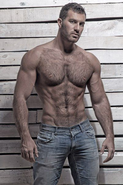 Sexy gay muscle hairy