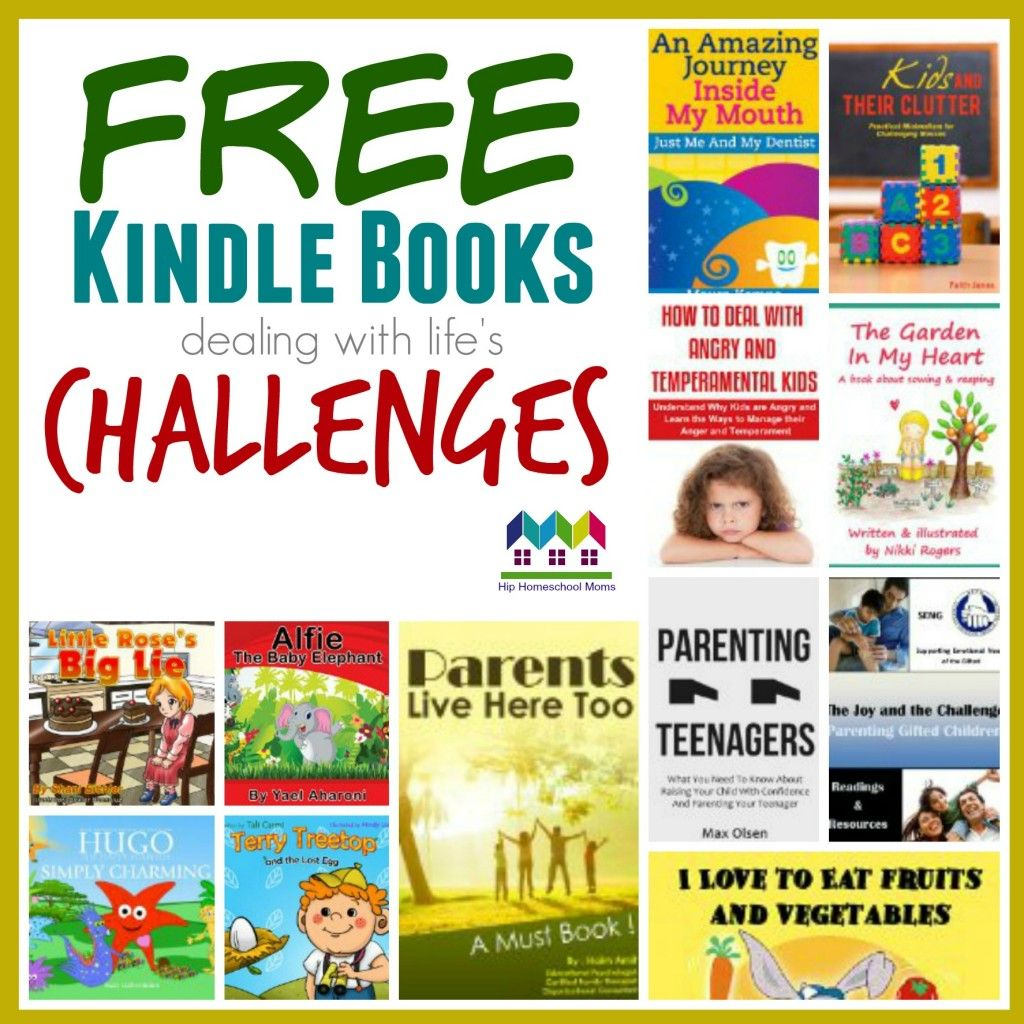 #Free Kindle Books dealing with life's challenges | Hip Homeschool Moms