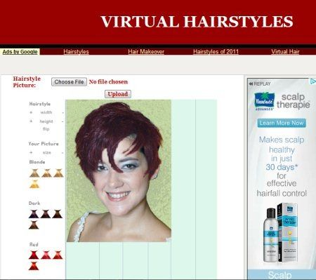 5 Free Websites For Virtual Hairstyles Virtual Hairstyles Virtual Hairstyles Free Hair Styles