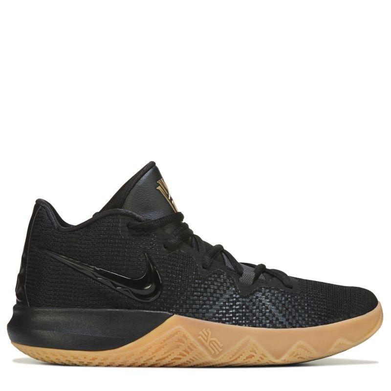 Nike Men s Kyrie Flytrap Basketball Shoes (Black Gold) afab79840