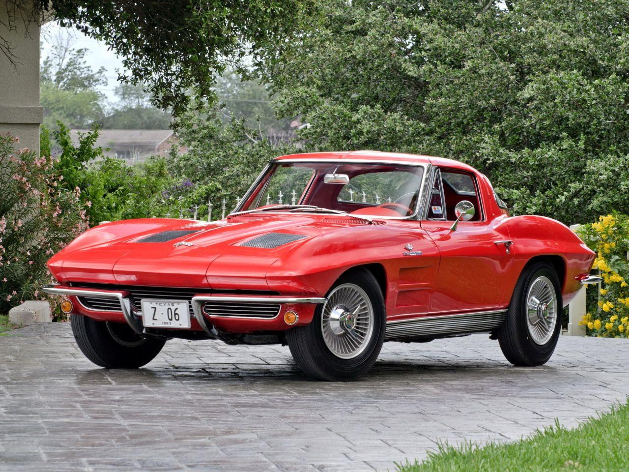 muscle cars 1963 corvette sting ray c2 cool cars corvette rh pinterest com