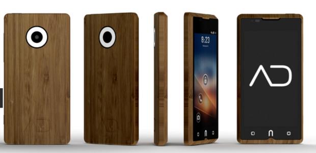 El primer smartphone de bambú pronto puede ser tuyo