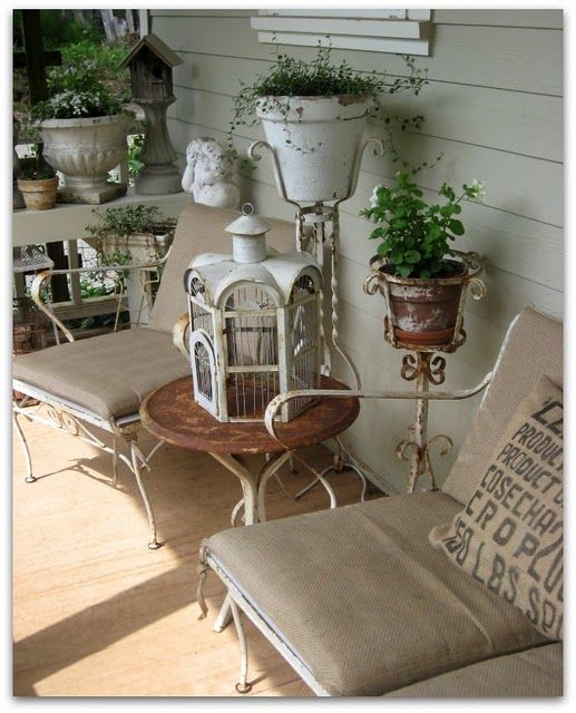 25 Great Porch Design Ideas: Best 25+ Shabby Chic Porch Ideas On Pinterest