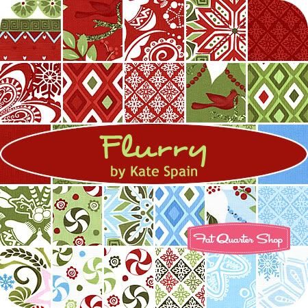 Flurry by Kate Spain | A Fat Quarter Shop Friday Sponsored Post