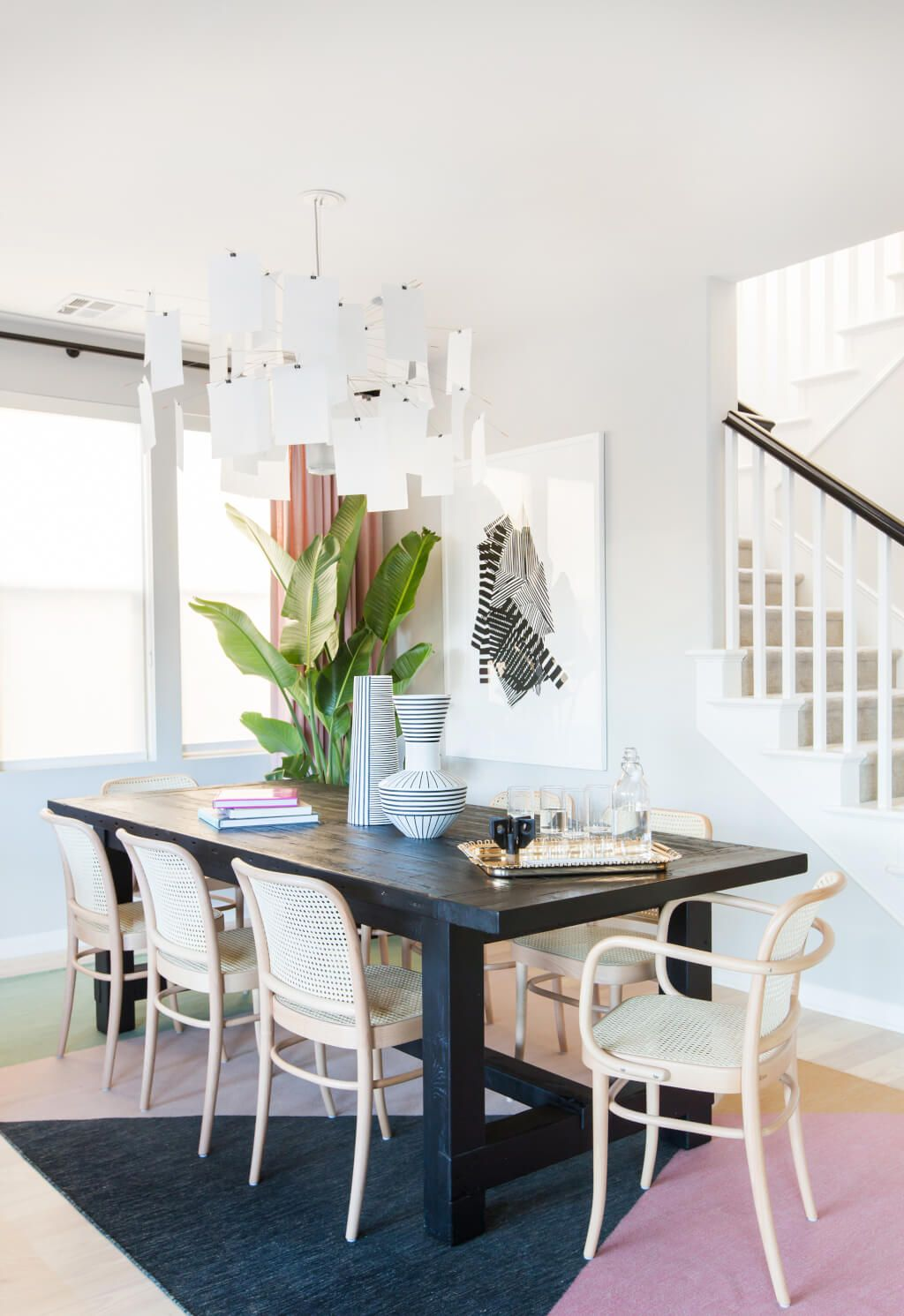 the design milk family room reveal get the look dining room rh pinterest com