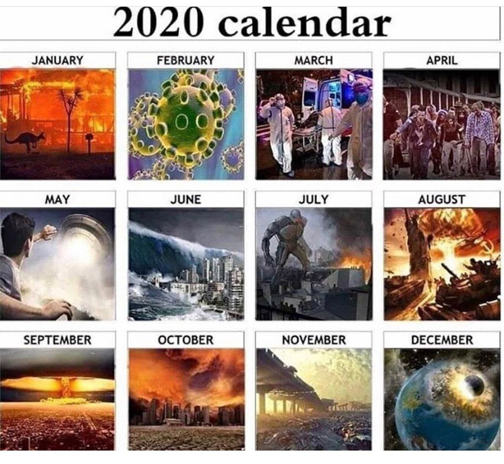 Let S Hope It Really Doesn T Play Out Like This In 2020 April