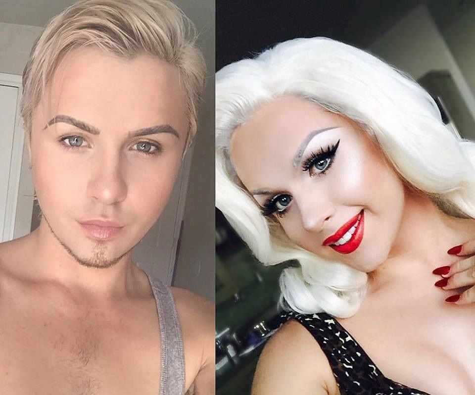 Boy to Girl Makeup Transformation with Kester - Onyxdiary.com