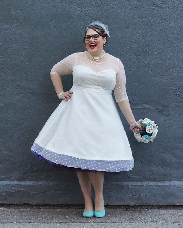 antique wedding dress uk%0A chose a Lindy Bop  u    Abigail u     dress for her wedding day and she looks just so  beautiful  We love it with the dark petticoat too