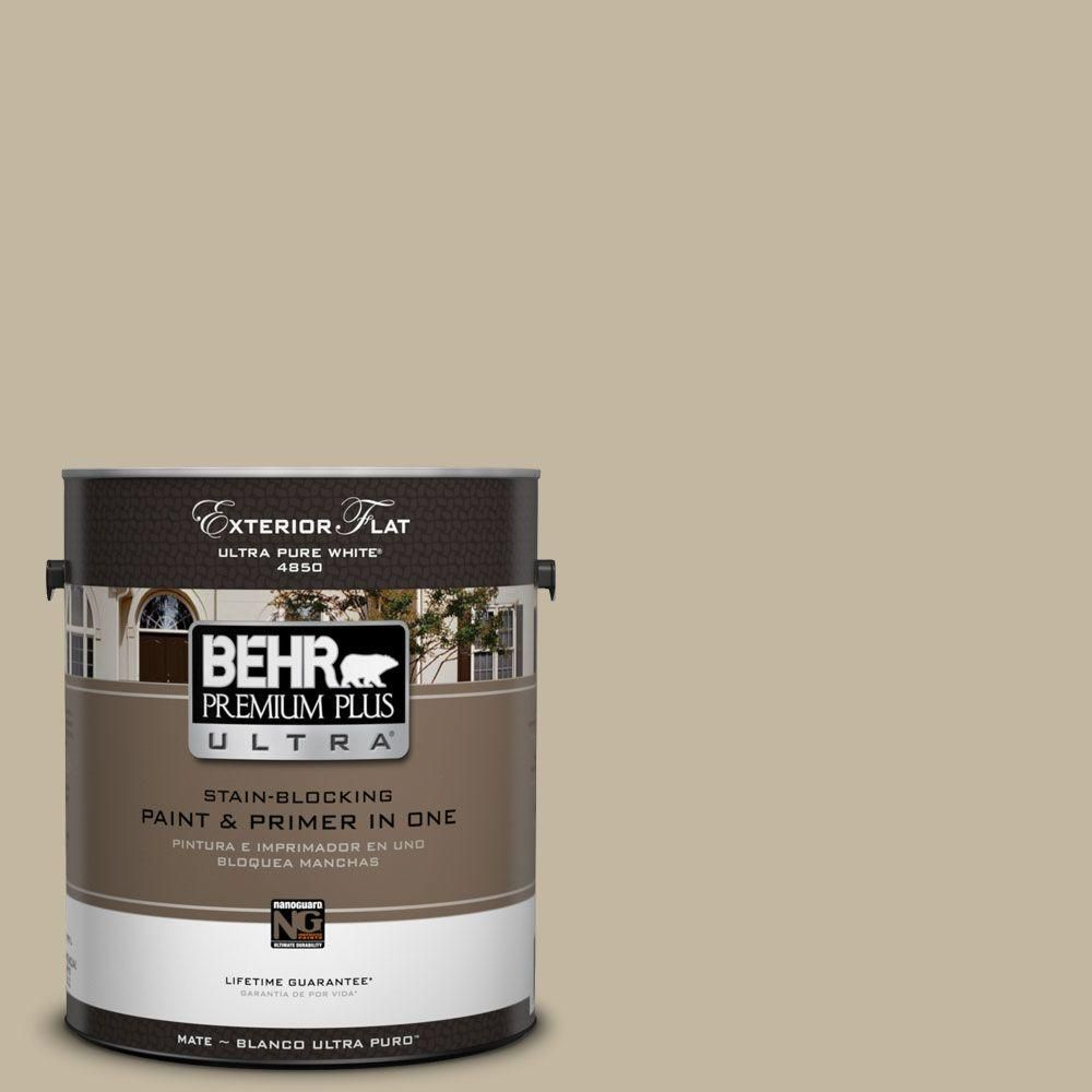 BASIC KHAKI   Bedroom Color BEHR Premium Plus Ultra Home Decorators  Collection 1 Gal.