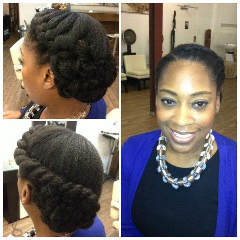 Image result for wedding hairstyles for black women natural hair ...