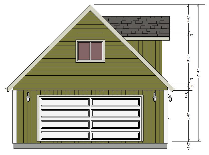 Dormer Garage Plans Dormer Garage Plans