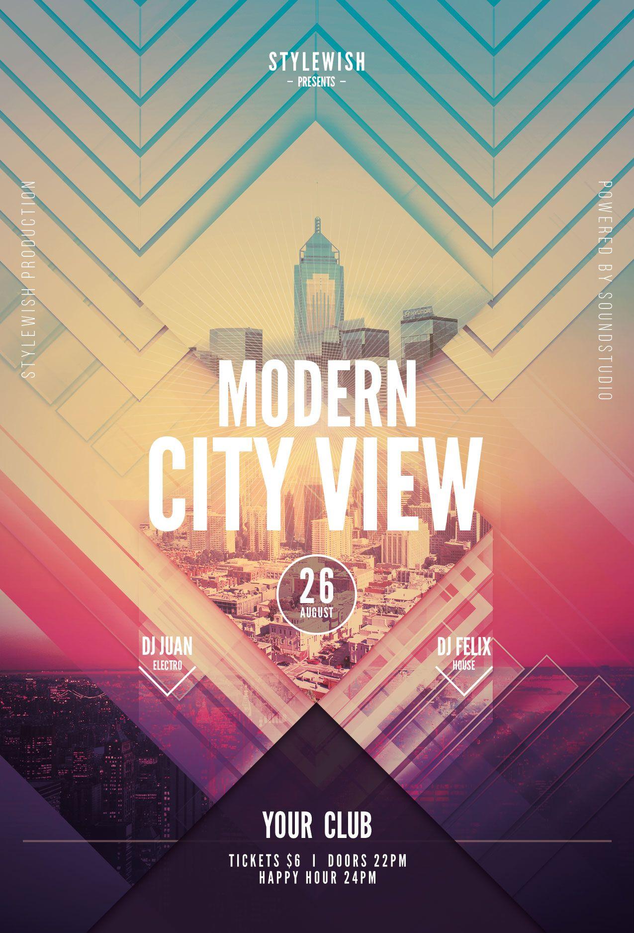 modern event flyers modern event flyers