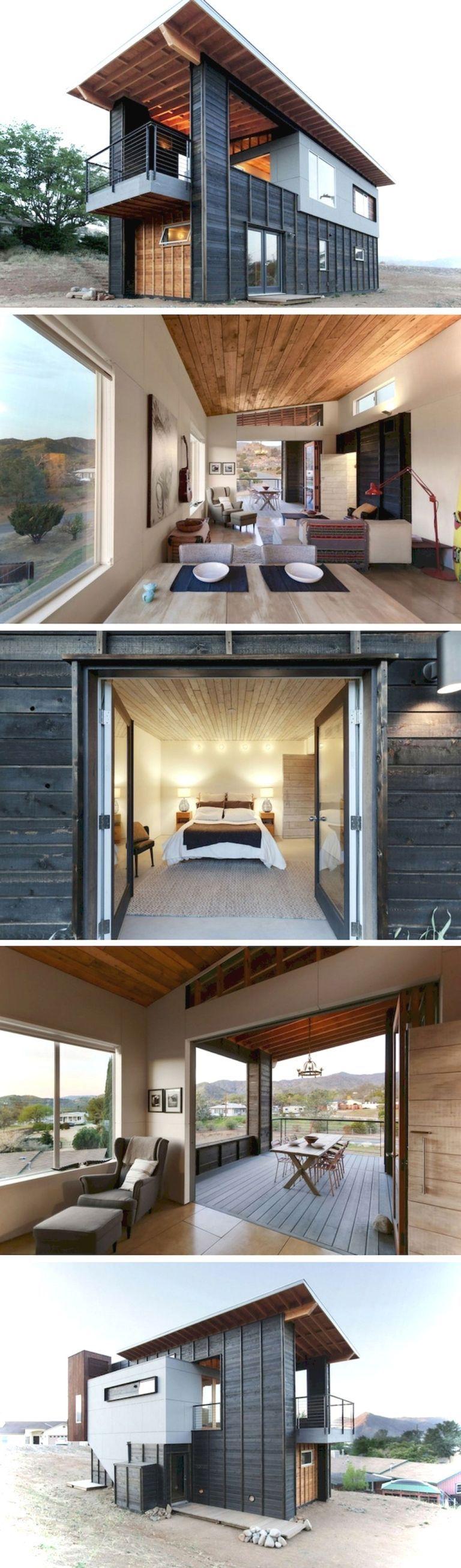 incredible tiny house interior design ideas54 casita container rh pinterest com