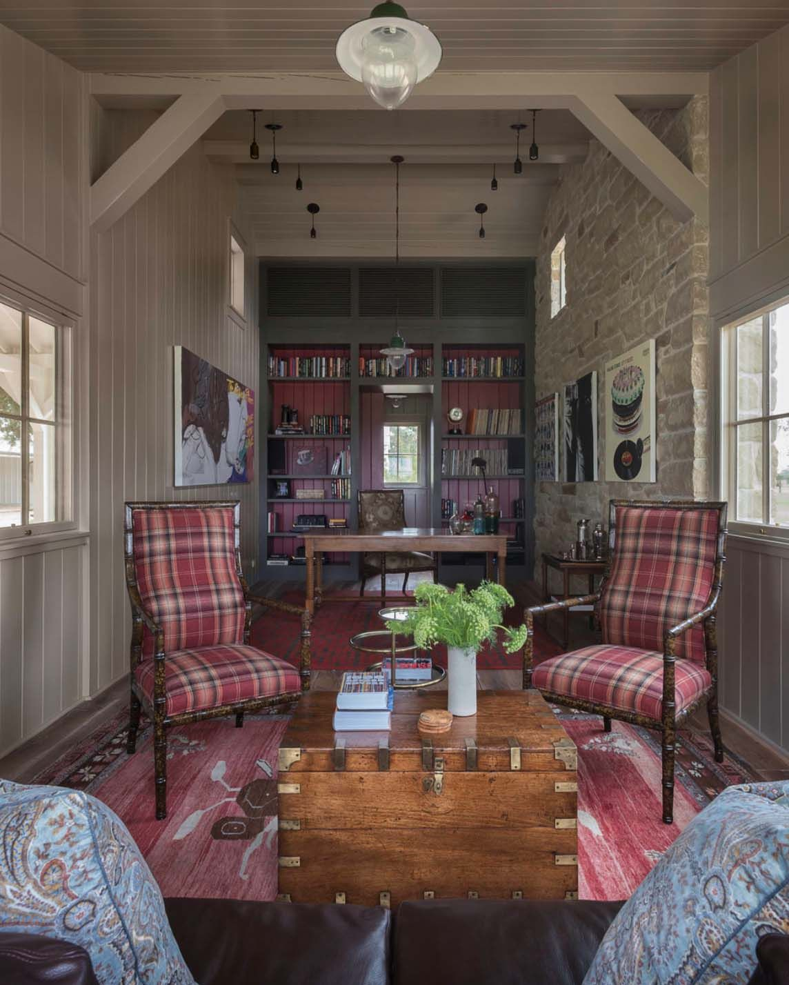 farmhouse inspired home with an understated country feel in texas rh pinterest com