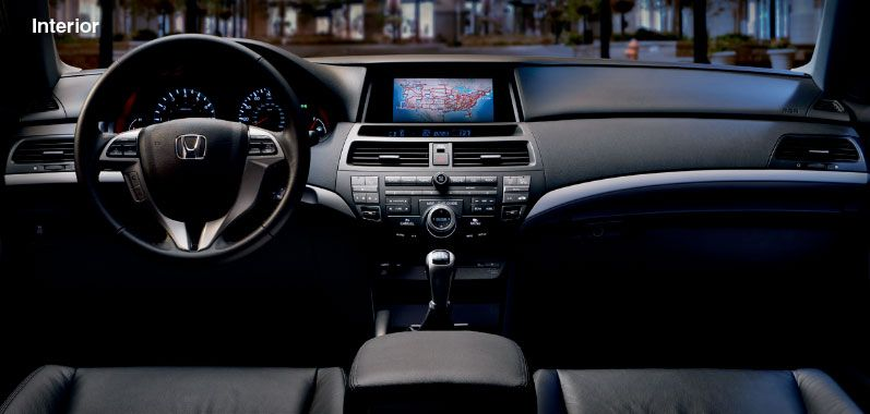 2012 Honda Accord Coupe   Interior Features   Official Honda Site