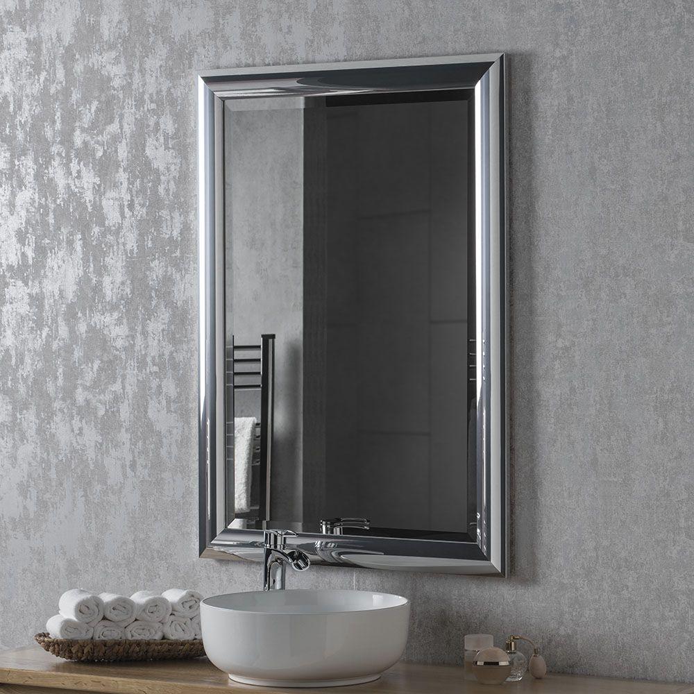 Chrome Bathroom Mirror 8 Sizes