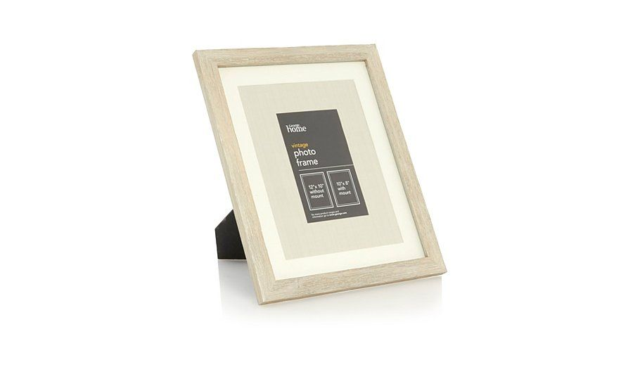 Buy George Home Large Wood Frame 12 X 10 Inch From Our Photo Frames Range Today From George At Asda Frame
