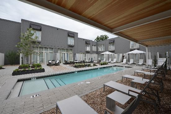 Hotel Ella In Austin Smaller Boutique That Has A Pool