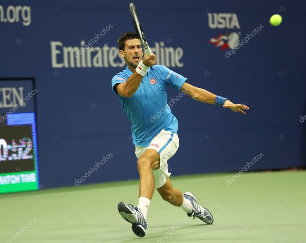 Twelve Times Grand Slam Champion Novak Djokovic Of Serbia In Action During His Q Aff Grand Slam Twelve Times Ad In 2020 Grand Slam Novak Djokovic Champion