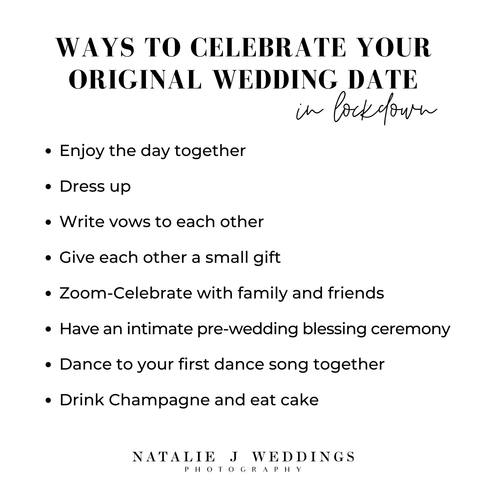 Positive Quote Wedding Postponement Ways To Celebrate Original Wedding Date In Lockdown Ideas Positive Quotes Wedding Blessing Wedding