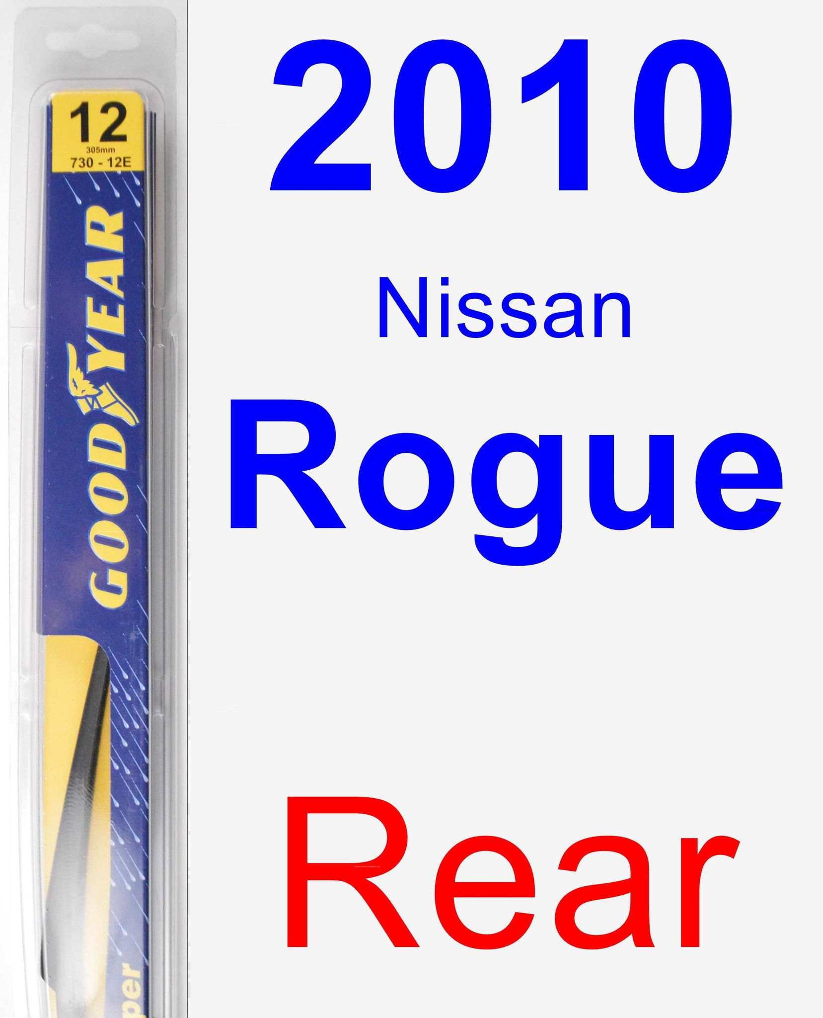 Rear Wiper Blade For 2010 Nissan Rogue Rear Toyota Venza