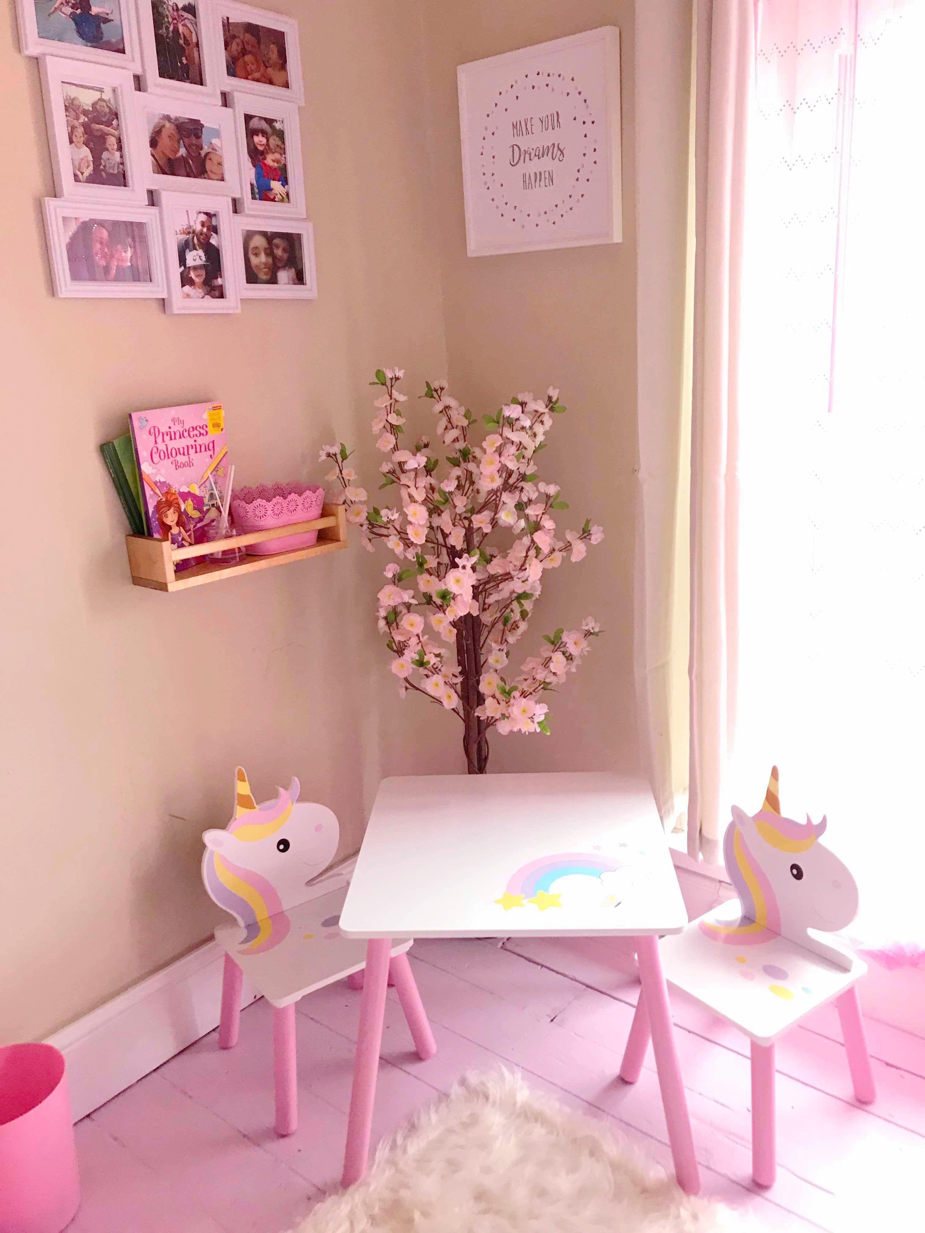 wallpaper rolls sheets believe in unicorns collage girls bedroom rh fairygarden co id