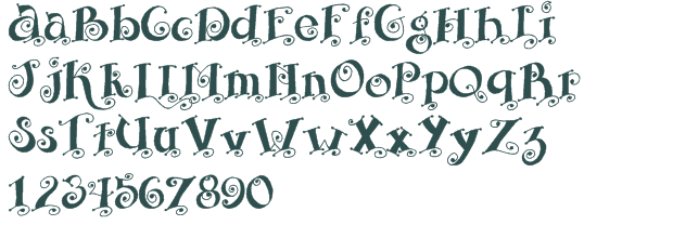 beveled letter fonts | SBC Curly font download free (truetype