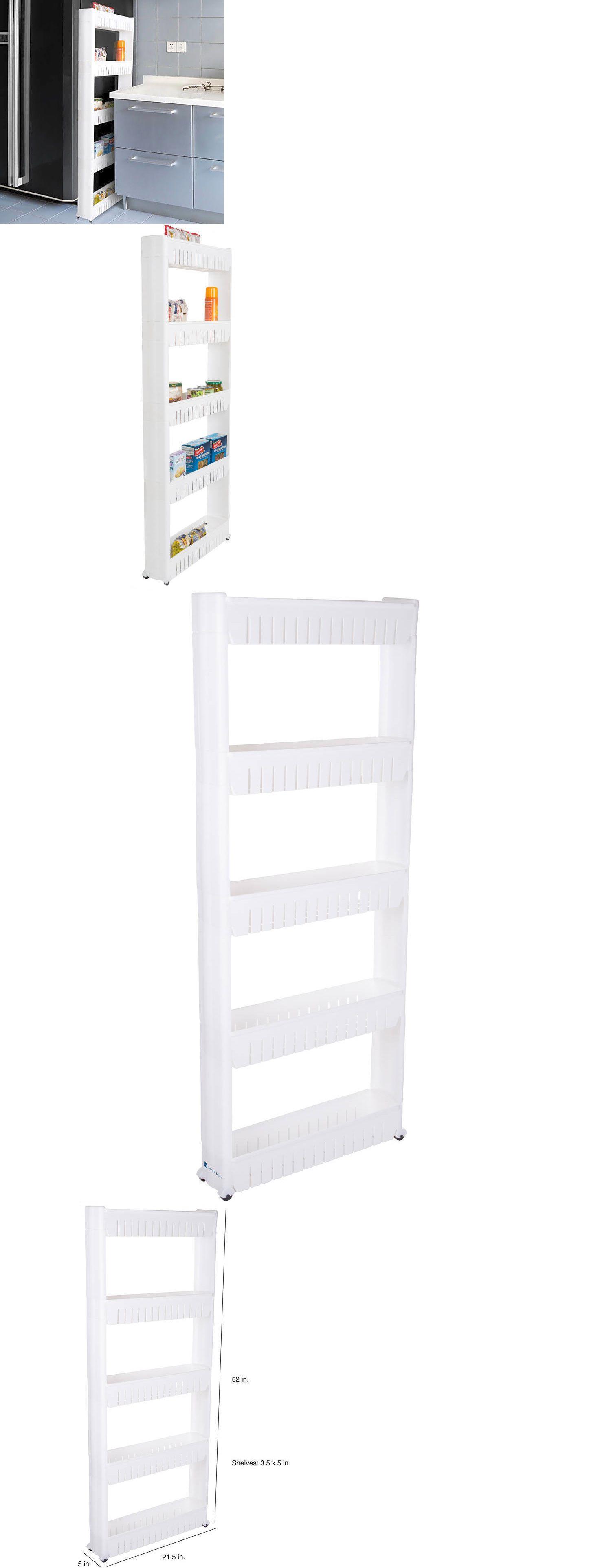 Racks and Holders 46283: 5 Shelves Storage Organizer Rack Home ...