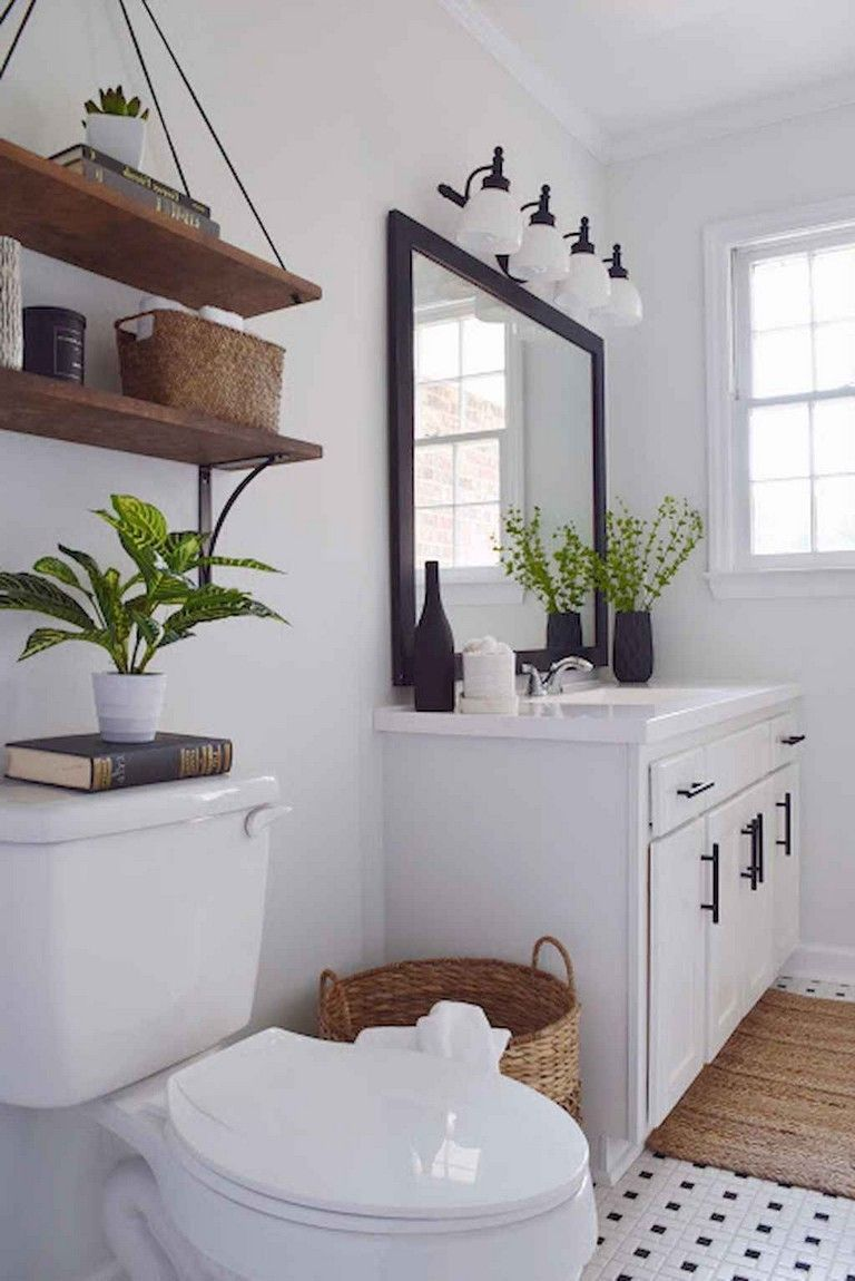 90 Awesome Farmhouse Bathroom Decor Ideas Bathroomideas Bathroomremodel Bathroomdesi Rustic Master Bathroom Modern Farmhouse Bathroom Modern Master Bathroom