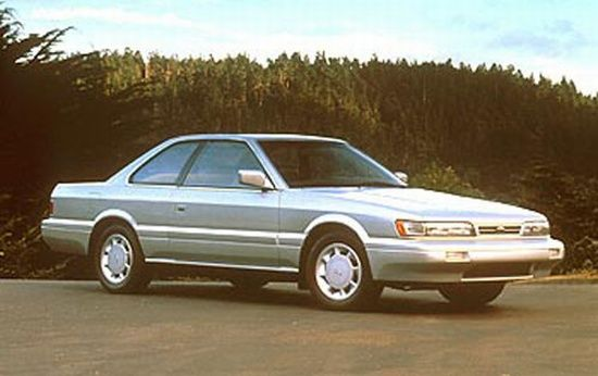 Front Right Silver 1990 Infiniti M30 car Picture