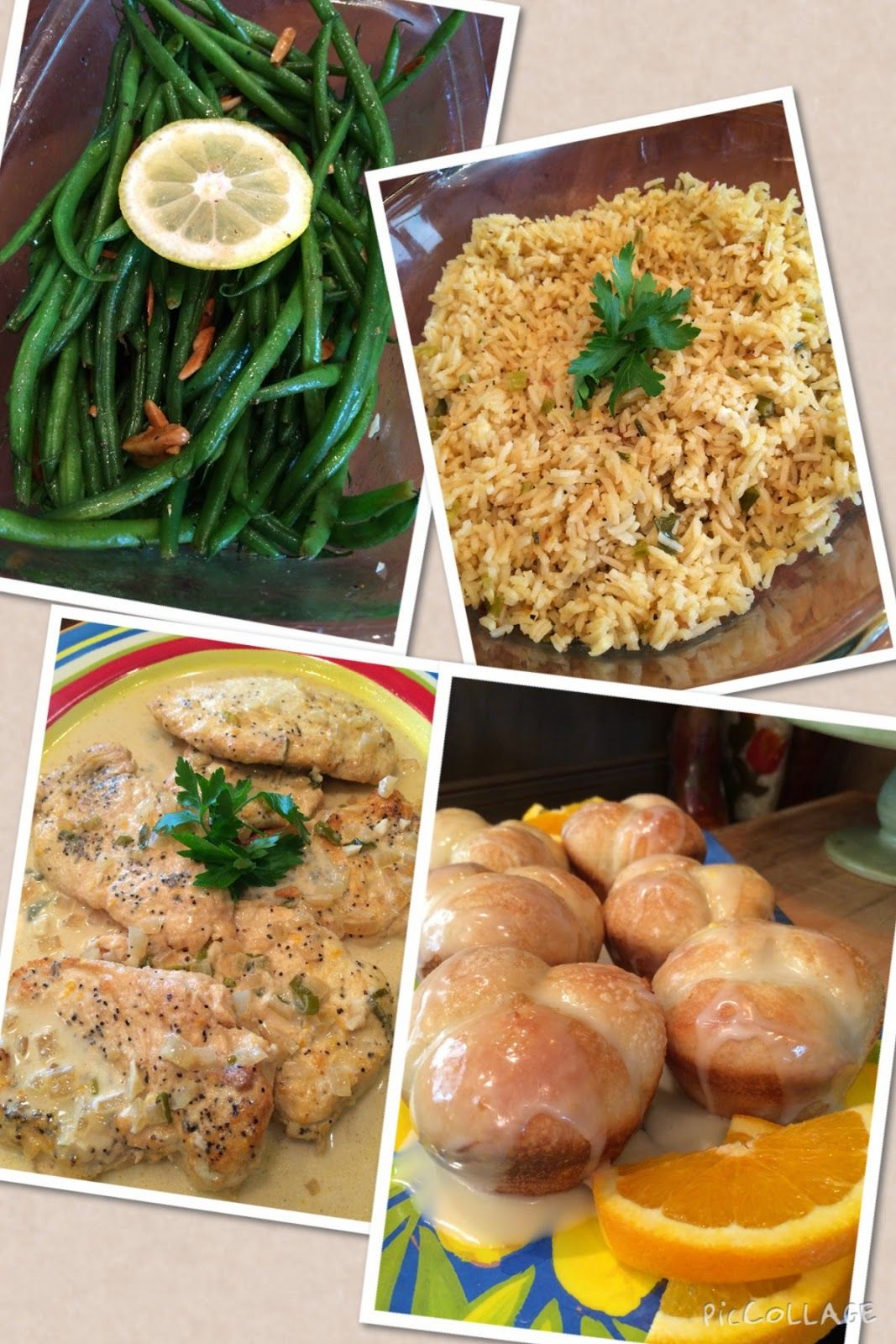 Dream Home Cooking Girl: Recipes from today's show:) Orange