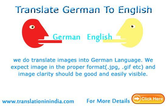 we can translate speech into German Language It requires speech - speech format
