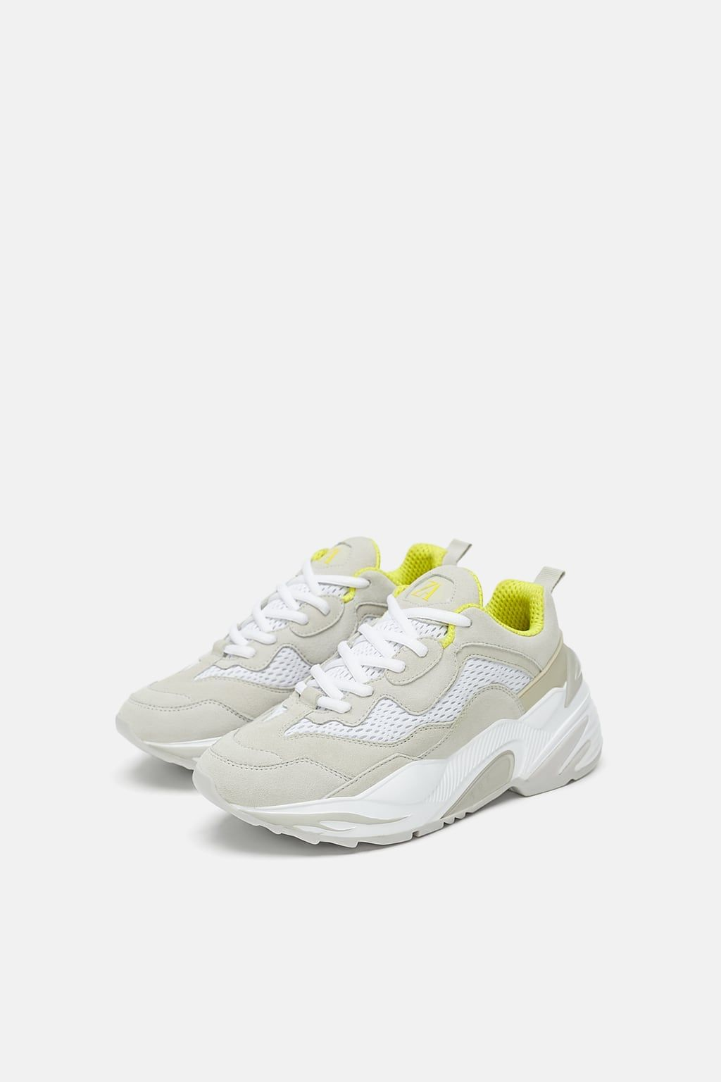 10444aacaedce Image 2 of THICK-SOLED SNEAKERS from Zara